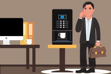 Koffieautomaat zakelijk